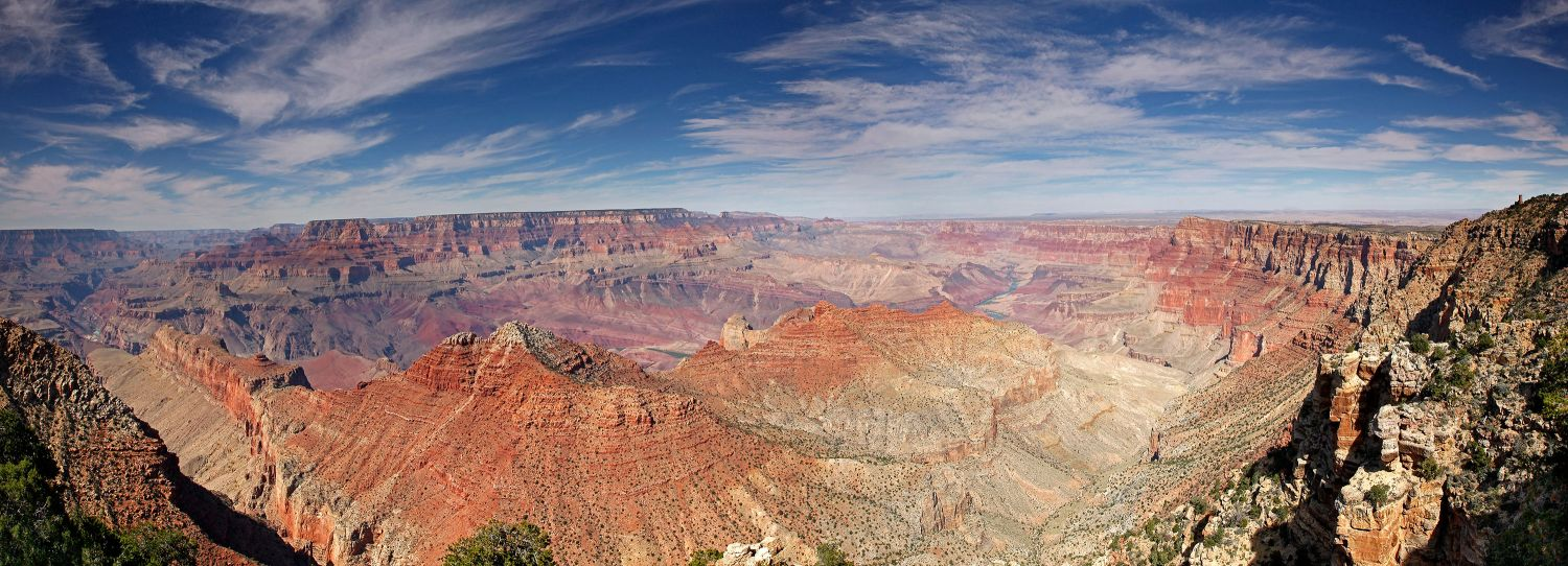 An elevated view of the Eternal Landscape, Grand Canyon South Rim