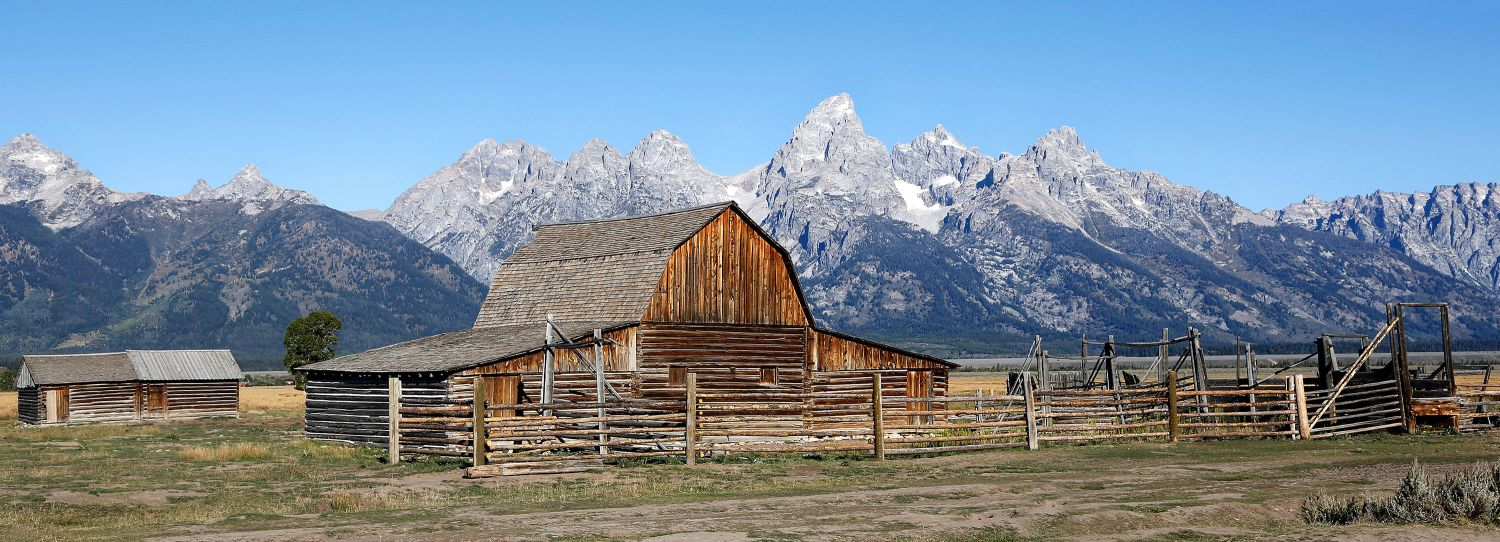 Moulton Barns, Mormon Row, Grand Teton
