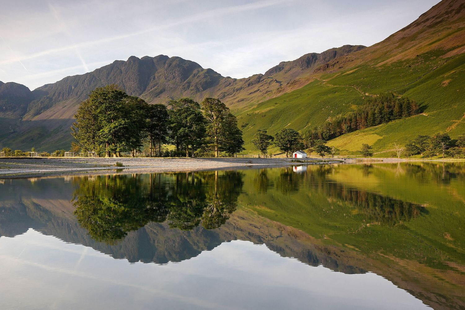 Summer reflections in Buttermere