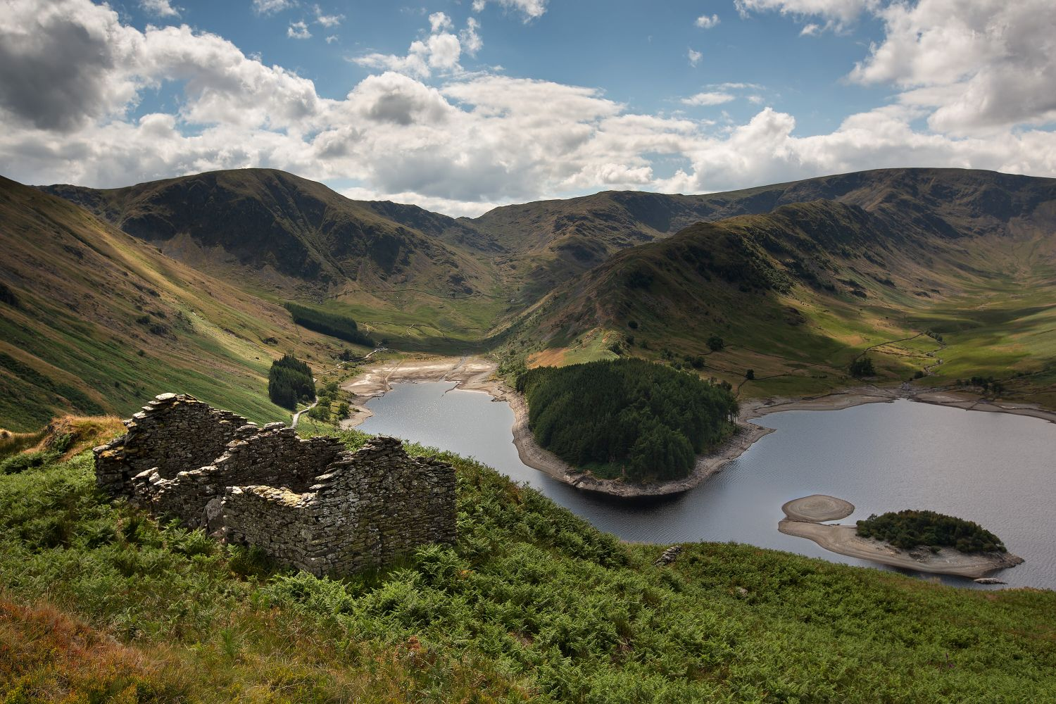 Harter Fell and The Rigg above Haweswater