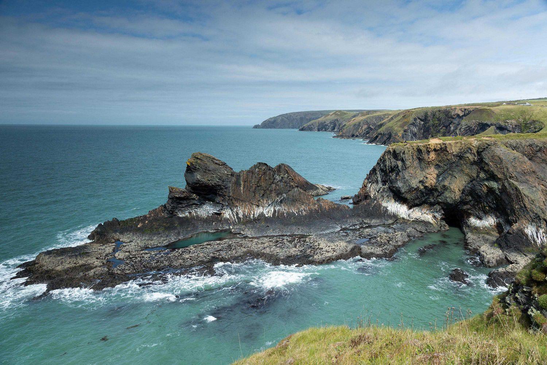 Ceibwr Bay on the Pembrokeshire Coast Path