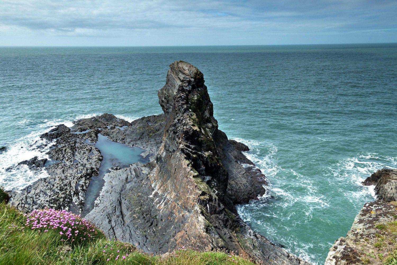 The Witch's Cauldron near Ceibwr Beach, Pembrokeshire