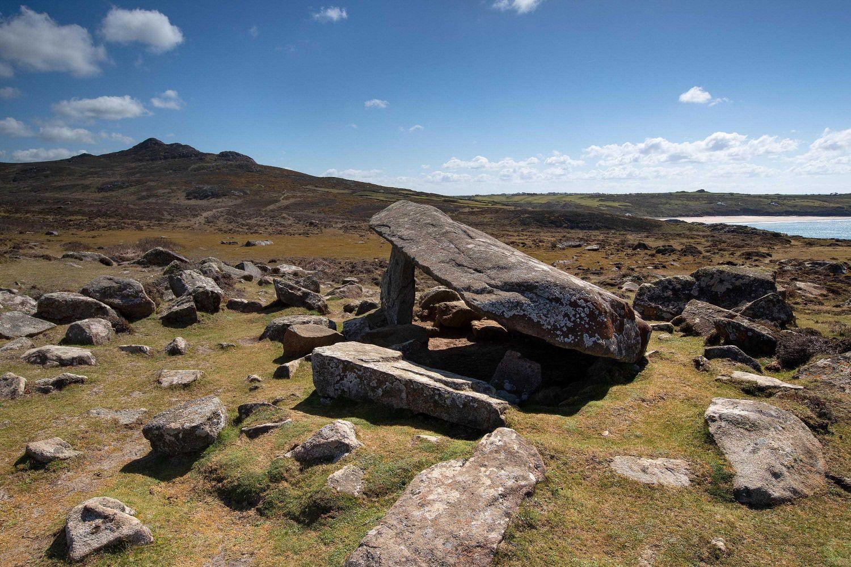 Coetan Arthur Burial Chamber near St David's Head