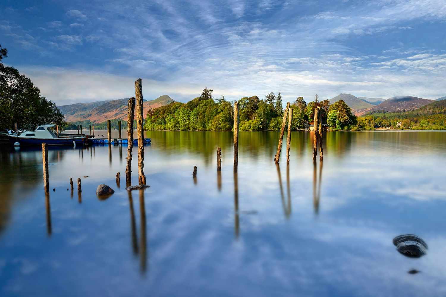 Spring comes to Derwentwater by Martin Lawrence