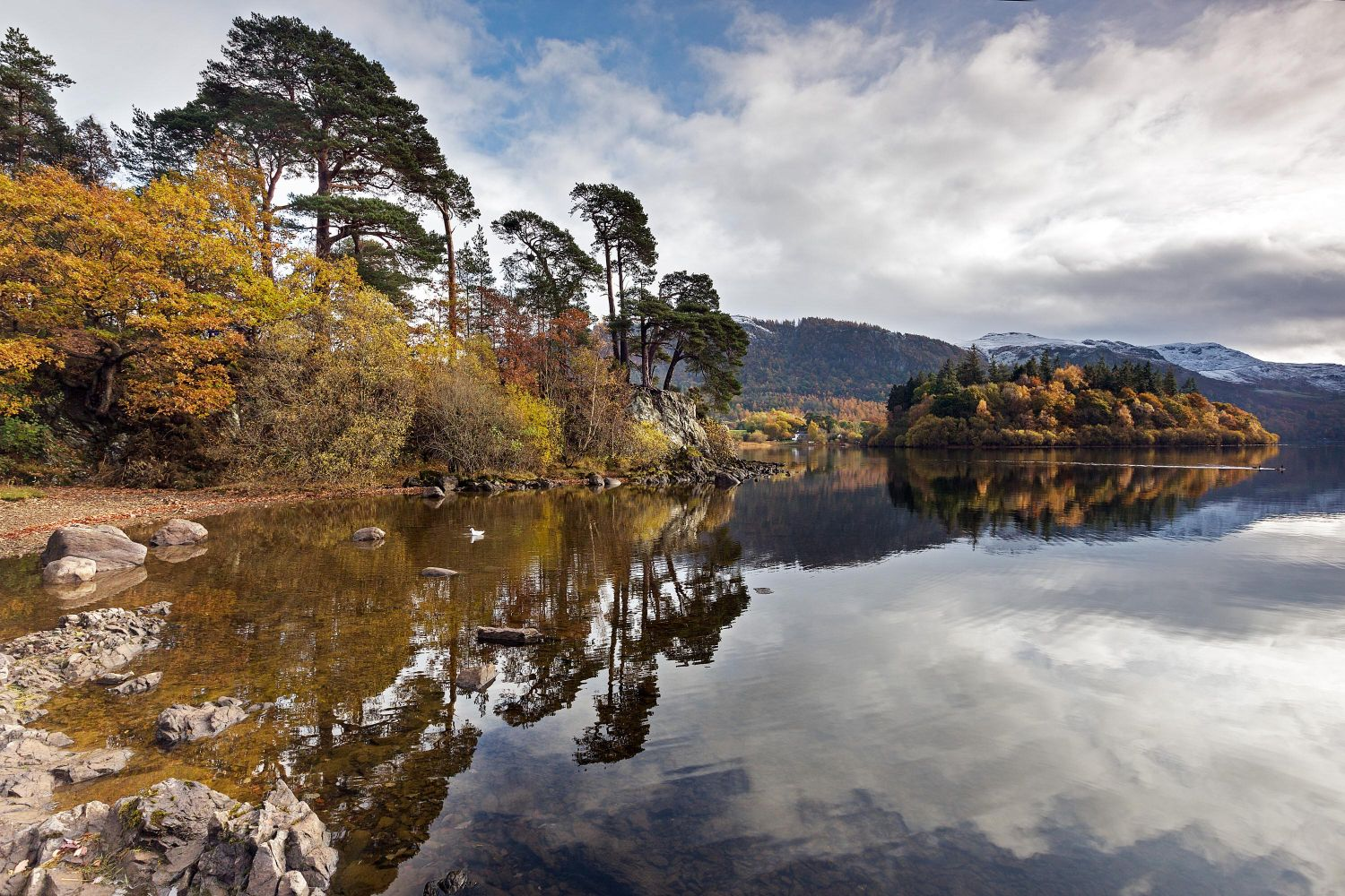 Late Autumn at Friars Crag taken from a different perspective