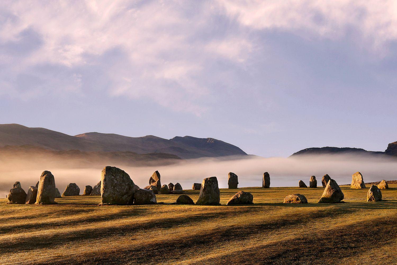 Mist above Castlerigg Stone Circle